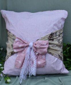 Bow Cushion Covers polka dot
