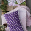 Colorful Printed Pom-Pom Pillow Covers